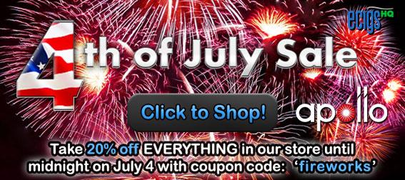 Apollo July 4th Sale photo 1.