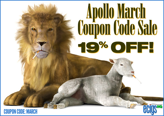 Apollo March Coupon Code Sale banner.
