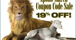 Apollo March Coupon Code Sale!