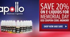 Apollo Memorial Day Coupon Code Sale!