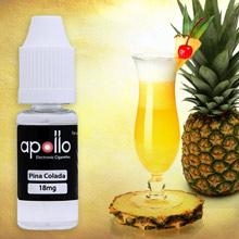 Apollo PIÑA COLADA E-liquid banner.