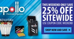 Apollo Weekend 25% Coupon Code Sale!