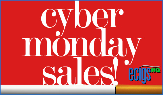 E-cigarette Cyber Monday Sales! photo.
