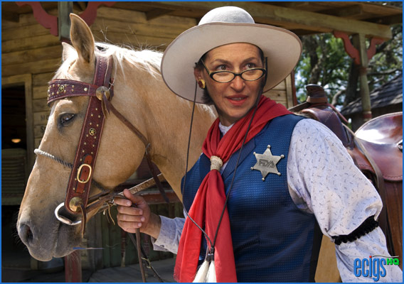 ...and the horse you rode in on. FDA Commissioner, Dr. Margaret Hamburg.