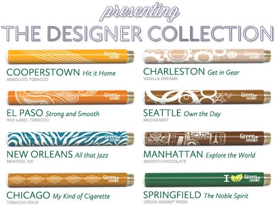 Green Smoke Designer Collection photo 1.