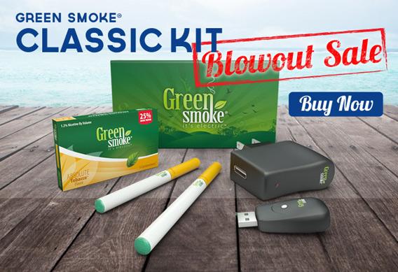 Green Smoke Classic Kit Blowout Sale photo 1.