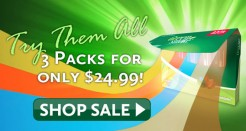 Green Smoke FlavorMax™ Variety Pack Overstock Sale!