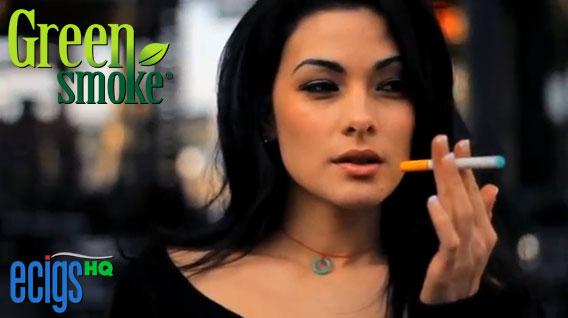 Green Smoke Girl photo 1.