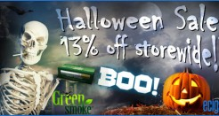 Green Smoke Halloween Sale!