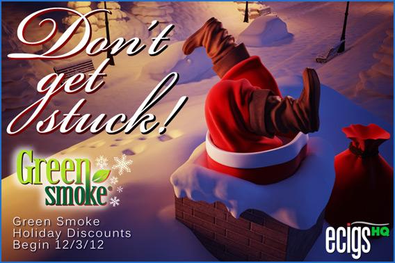 Green smoke discount coupons