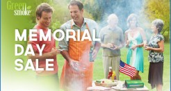 Green Smoke Memorial Day Coupon Code Sale!