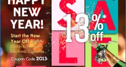 Green Smoke New Year's Discounts!