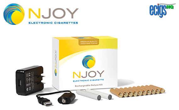 NJOY Rechargeable Traditional Deluxe Kit photo 1.