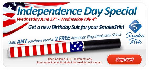 Smoke Stik Independence Day Sale photo 1.