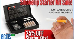 SmokeTip 25% Off Starter Kits Sale
