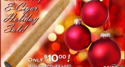 SmokeTip e-Cigar Holiday Sale!