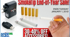 SmokeTip End-of-Year Accessory Sale!