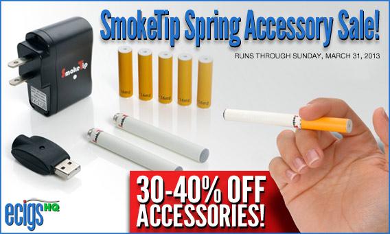 SmokeTip Spring Accessory Sale photo 1.