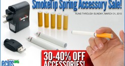 SmokeTip Spring Accessory Sale!