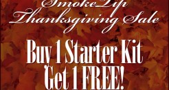 SmokeTip Thanksgiving Sale!