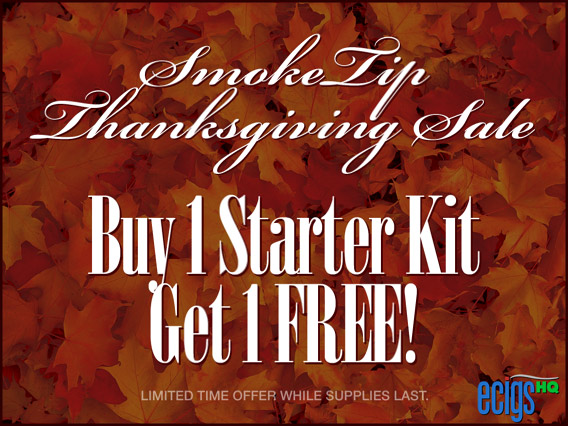 SmokeTip Thanksgiving Sale photo 1.