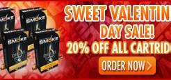 South Beach Smoke Valentine's Cartridge Sale!