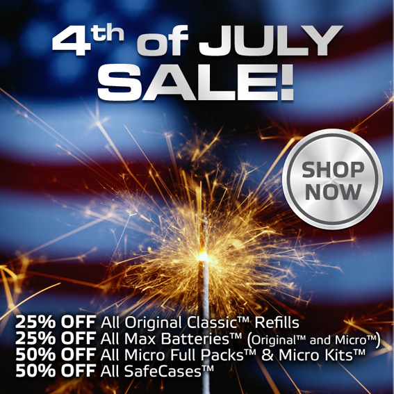 The Safe Cig 4th of July Sale photo 1.