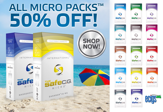 50% Off The Safe Cig Micro Packs photo 1.