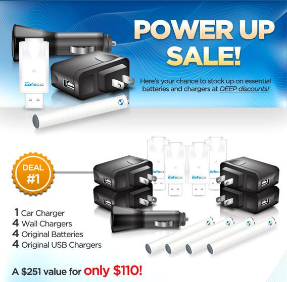 The Safe Cig Power Up Sale photo 1.