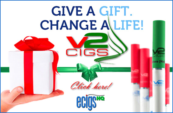 V2 Cigs Holiday Sale photo.
