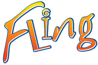 White Cloud Fling Disposable logo.